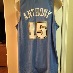 buy online 85a57 479a7 Nike Shirts - Nike NBA Denver Nuggets 15 Carmelo Anthony Jersey
